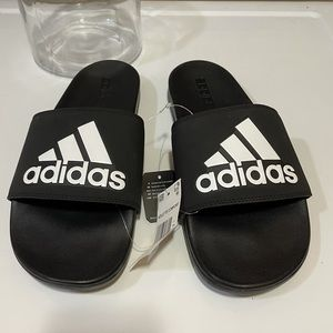 Adidas Adilette Comfort slides. New Black size 11